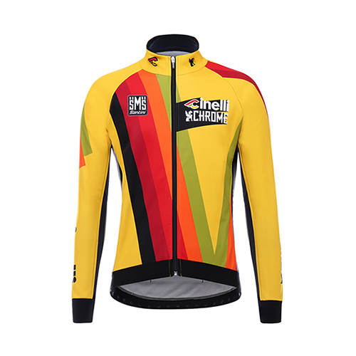 2017 Team Cinelli Chrome Wind Jacket