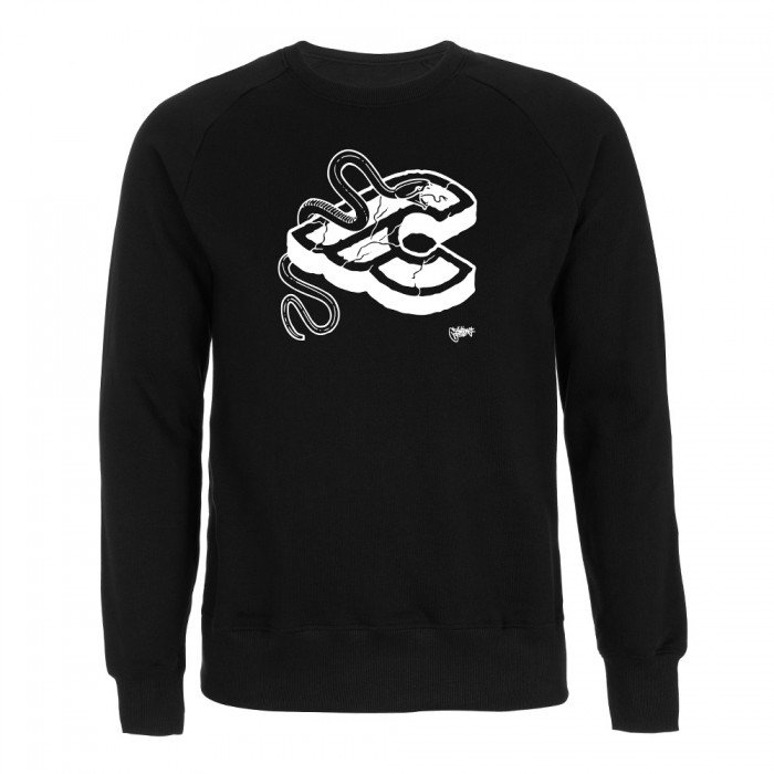 Mike Giant Black Crew Sweatshirt