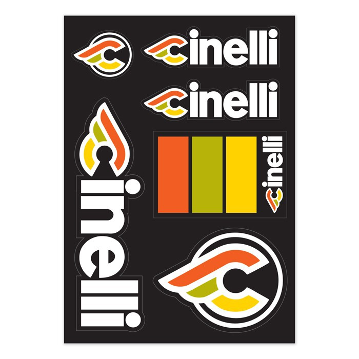Cinelli Italo '79 Sticker Pack