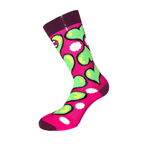 Ana Benaroya Heart Socks