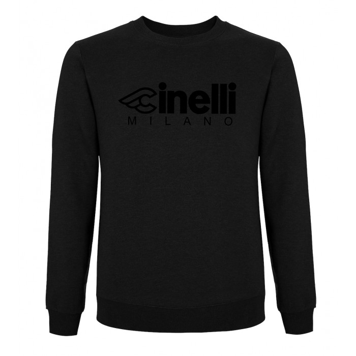 Cinelli Milano Flocked Crewneck