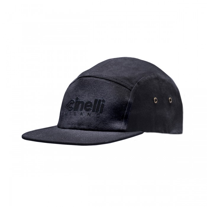 Cinelli Milano Flocked 5 Panel Cap